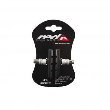 Paire de Patins de Frein à Vis RED CYCLING PRODUCTS V-Brake Noir