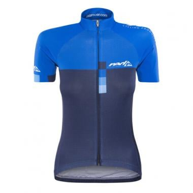 Maillot RED CYCLING PRO RACE Femme Manches Courtes Bleu