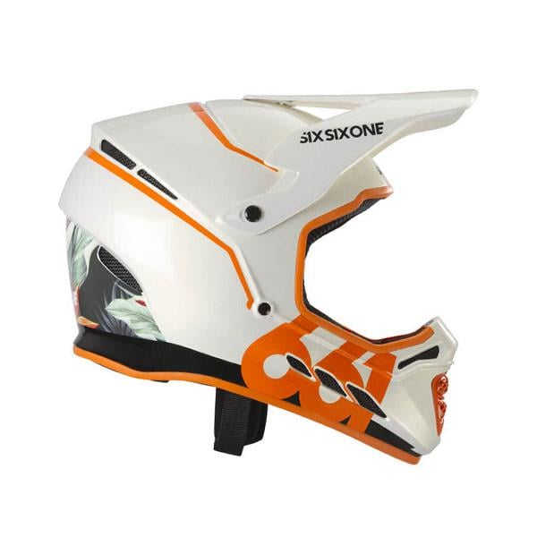 Sixsixone 661 Reset Tropic Helmet Orange 2018 Probikeshop