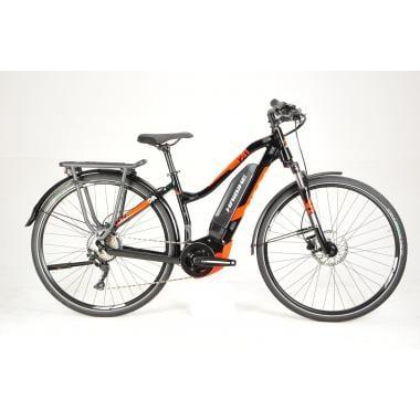 CDA - Vélo de Voyage Électrique HAIBIKE SDURO TREKKING 2.0 LOW-STEP Femme Noir/Rouge 2019 - Taille S