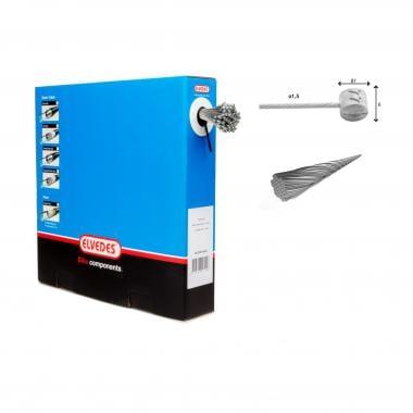 Boîte de 100 Câbles de Frein ELVEDES Inoxydable Extra Flexible