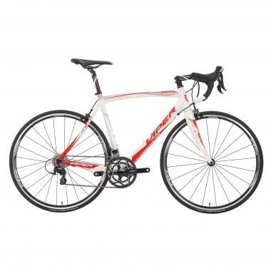 Bicicletta da Corsa VIPER STELVIO Shimano 105 5800 34/50 Bianco/Rosso 2016