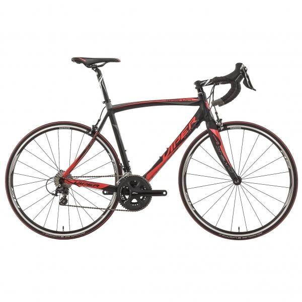 Vélo de Course VIPER STELVIO Shimano 105 5800 34/50 Noir/Rouge 2016
