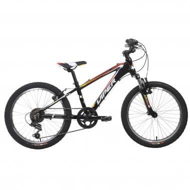 """Mountain Bike VIPER TR20 20"""" Negro/Rojo/Naranja"""