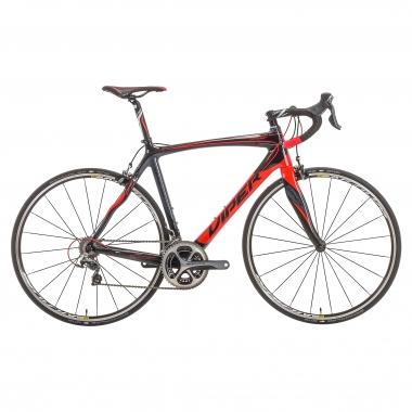 Bicicleta de carrera VIPER GALIBIER Shimano Dura Ace 9000 34/50 Negro/Rojo 2016
