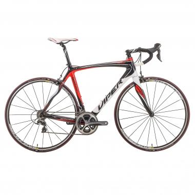 Bicicleta de carrera VIPER GALIBIER Shimano Dura Ace 9000 34/50 Rojo/Blanco 2016