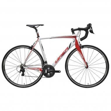 Bicicleta de carrera VIPER PUY DE DÔME Shimano 105 5800 34/50 Rojo/Blanco 2016