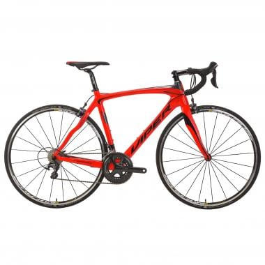 Bicicletta da Corsa VIPER GALIBIER Shimano Ultegra 6800 34/50 Rosso/Argento 2017