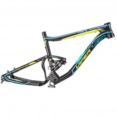 "Cuadro de Mountain Bike VIPER FIERY XC 27,5"" Amortiguador FOX Float CTD Negro/Azul 2016"