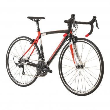 Rennrad VIPER STELVIO Shimano 105 R7000 34/50 Schwarz/Rot/Silber