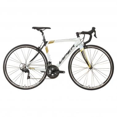 VIPER STELVIO Shimano 105 R7000 34/50 Road Bike White/Black/Gold 2018