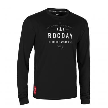 Maillot ROCDAY PATROL Manches Longues Noir