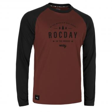 Maillot ROCDAY PATROL Manches Longues Rouge 2021