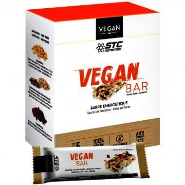 Pack de 5 Barres Énergétiques STC NUTRITION VEGAN BAR (35 g)