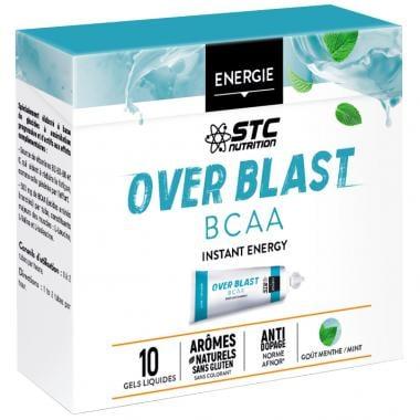 Pack de 10 Gels Énergétiques STC NUTRITION OVER BLAST BCAA LD ULTRA (25 g)