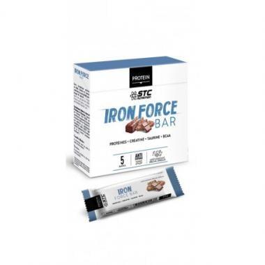Pack de 5 Barres Énergétiques STC NUTRITION IRON FORCE (50 g)
