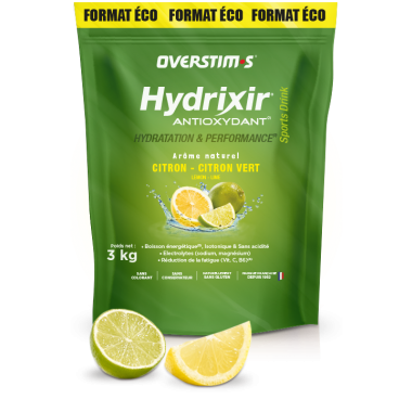 Boisson Énergétique OVERSTIM.S HYDRIXIR ANTIOXYDANT (3 kg)