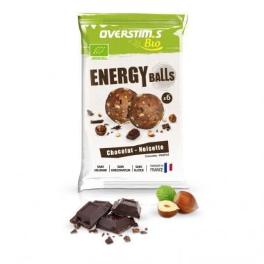 Sachet de 6 Energy Balls Bio OVERSTIM.S Chocolat Noisette