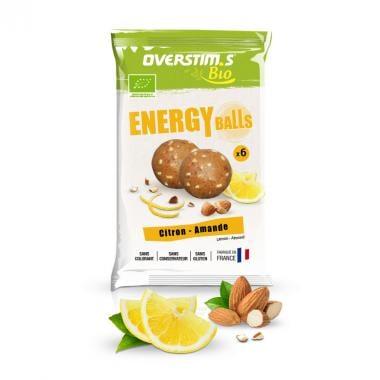 Sachet de 6 Energy Balls Bio OVERSTIM.S Citron Amande