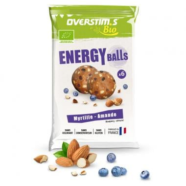 Sachet de 6 Energy Balls Bio OVERSTIM.S Myrtille Amande