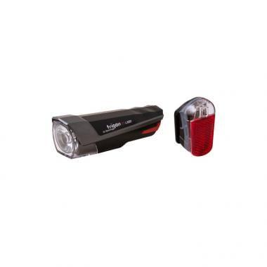 Éclairages Avant et Arrière SPANNINGA TRIGON 15 USB SET