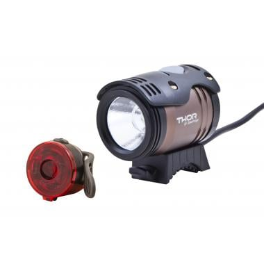 Special Offer Pack - SPANNINGA THOR 1100 Front Light + DOT REAR Light Free