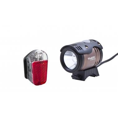 Pack Promo - Éclairage Avant SPANNINGA THOR 1100 + Un Éclairage Arrière PYRO XB Offert