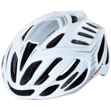 Casque Route SUOMY TIMELESS Blanc/Mat/Argent