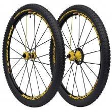 "Par de ruedas MAVIC CROSSMAX SL PRO LTD 27,5"" Eje delantero 9/15 mm - Trasero 9/12x135/12x142 mm + Cubiertas CROSSMAX PU"
