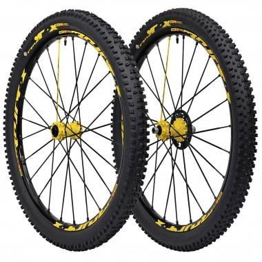 "Par de ruedas MAVIC CROSSMAX XL PRO LTD 27,5"" Eje delantero 15 mm - Trasero 12x142 mm + Cubiertas CROSSMAX CHARGE"