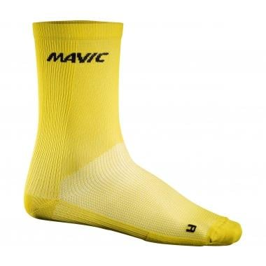 Chaussettes MAVIC COSMIC HIGH Jaune