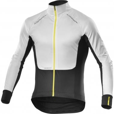 Maillot MAVIC COSMIC PRO WIND Manches Longues Blanc/Noir 2016