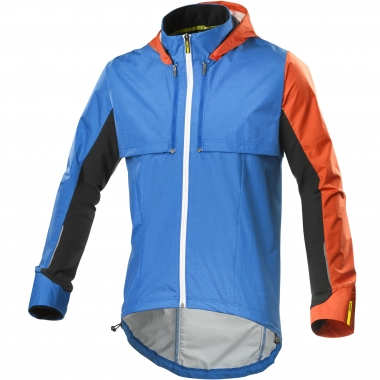 Veste Convertible MAVIC CROSSMAX ULTIMATE CONVERTIBLE BOLERO Bleu/Orange