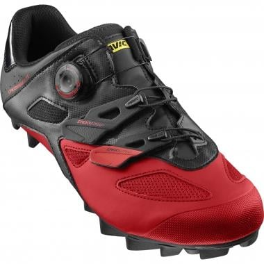 Zapatillas MTB MAVIC CROSSMAX ELITE Negro/Rojo 2017