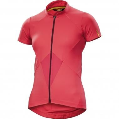 Maillot MAVIC SEQUENCE Femme Manches Courtes Rose 2017