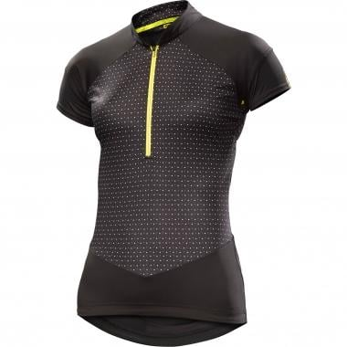 Maillot MAVIC SEQUENCE GRAPHIC Femme Manches Courtes Noir 2017