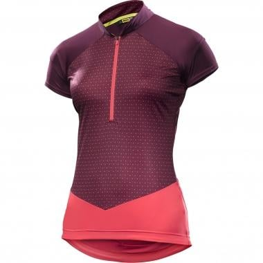 Maillot MAVIC SEQUENCE GRAPHIC Femme Manches Courtes Violet 2017