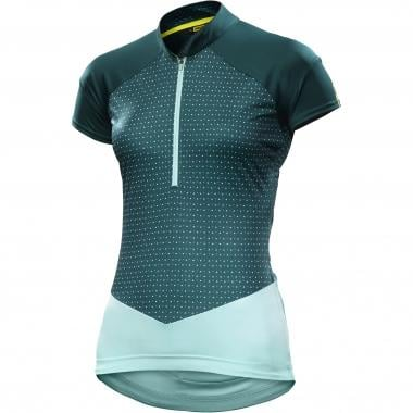 Maillot MAVIC SEQUENCE GRAPHIC Mujer Mangas cortas Verde 2017
