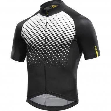 Maillot MAVIC COSMIC GRAPHIC Manches Courtes Blanc 2017