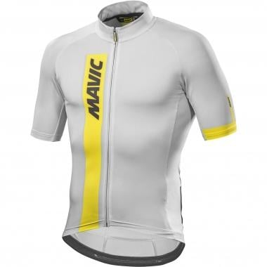 Maillot MAVIC COSMIC Manches Courtes Blanc 2017
