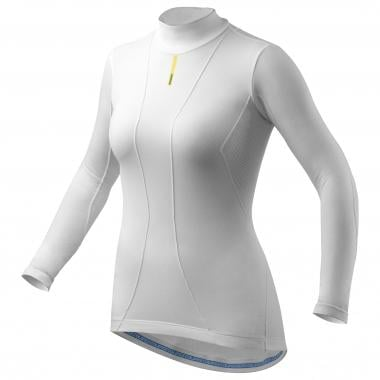 Camiseta interior MAVIC COLD RIDE Mujer Mangas largas Blanco