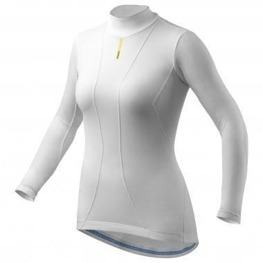 Sous-Vêtement Technique MAVIC COLD RIDE Femme Manches Longues Blanc