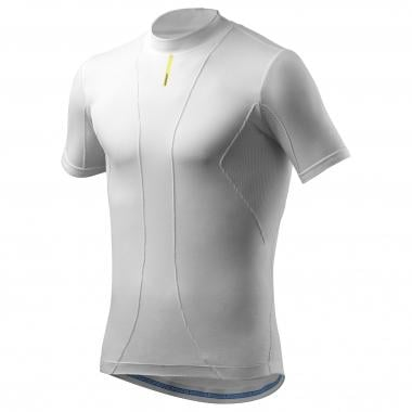 Camiseta interior MAVIC COLD RIDE Mangas Cortas Blanco
