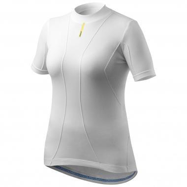 Sous-Vêtement Technique MAVIC COLD RIDE Femme Manches Courtes Blanc