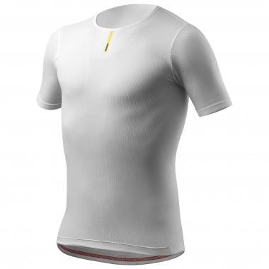 Camiseta interior MAVIC HOT RIDE Mangas cortas Blanco