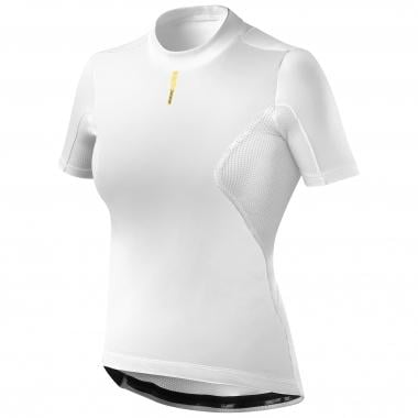 Camiseta interior MAVIC WIND RIDE Mujer Mangas cortas Blanco