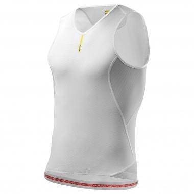 Camiseta interior MAVIC HOT RIDE+ Sin mangas Blanco