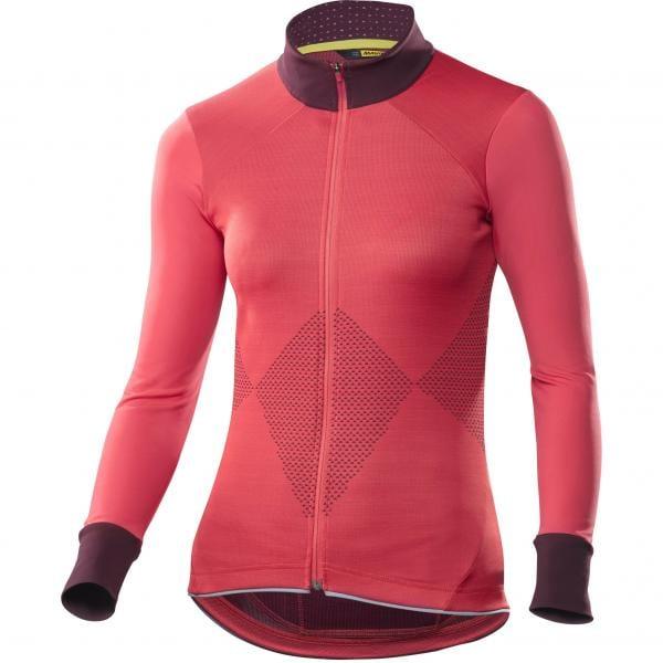 MAVIC SEQUENCE Women s Long-Sleeved Jersey Pink - Probikeshop 8c0724e01