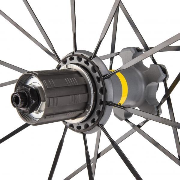 9612e0975db MAVIC KSYRIUM ELITE UST 700x25c Clincher Wheelset Black - Probikeshop