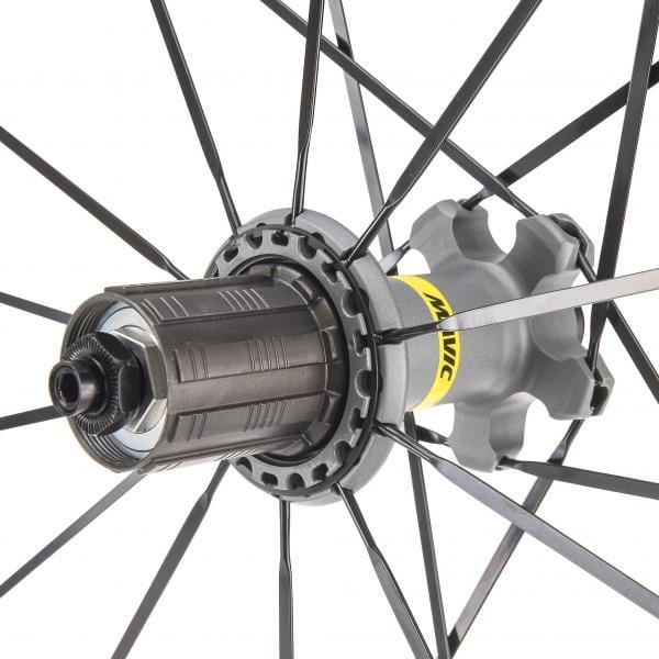 18d01c0d825 MAVIC KSYRIUM ELITE UST 700x25c Clincher Rear Wheel Black 2018 - Probikeshop